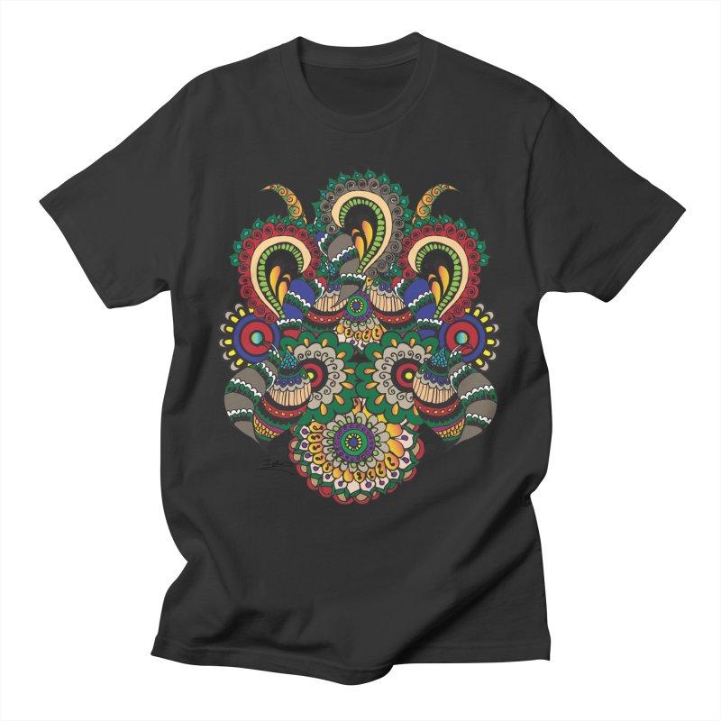 Rorchach Test's Hippie sister Men's T-Shirt by Iythar's Artist Shop