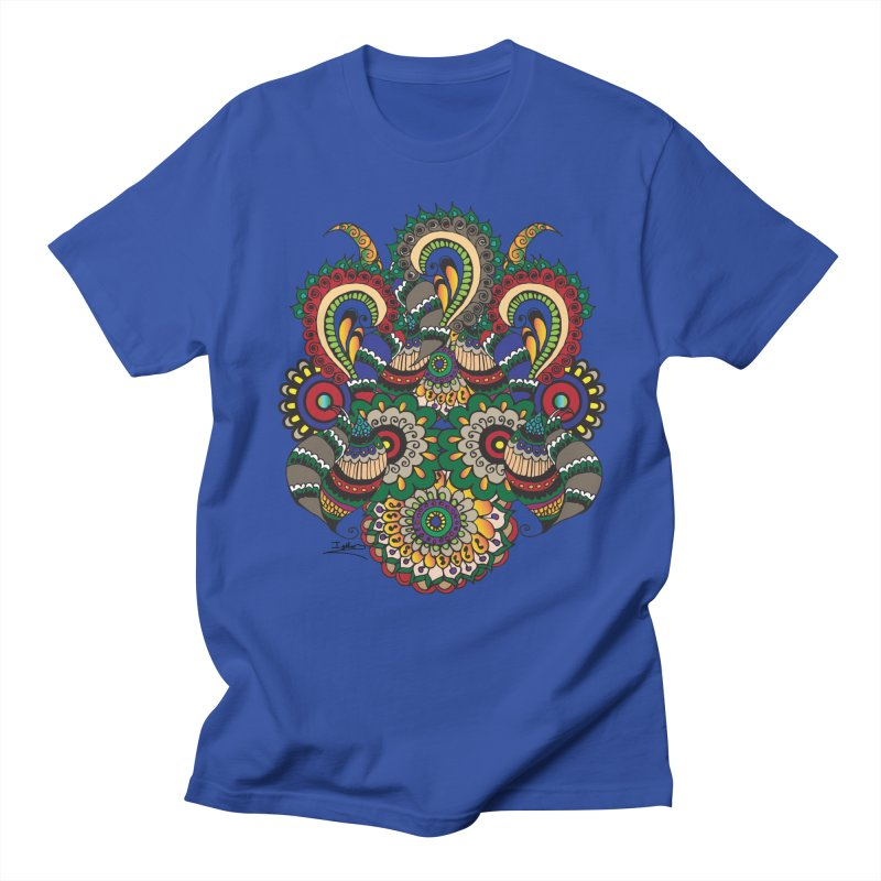 Rorchach Test's Hippie sister Men's Regular T-Shirt by Iythar's Artist Shop