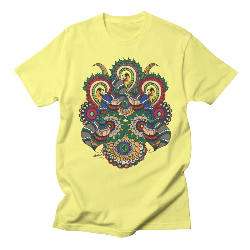 Rorchach Test's Hippie sister Men's T-shirt by Iythar's Artist Shop