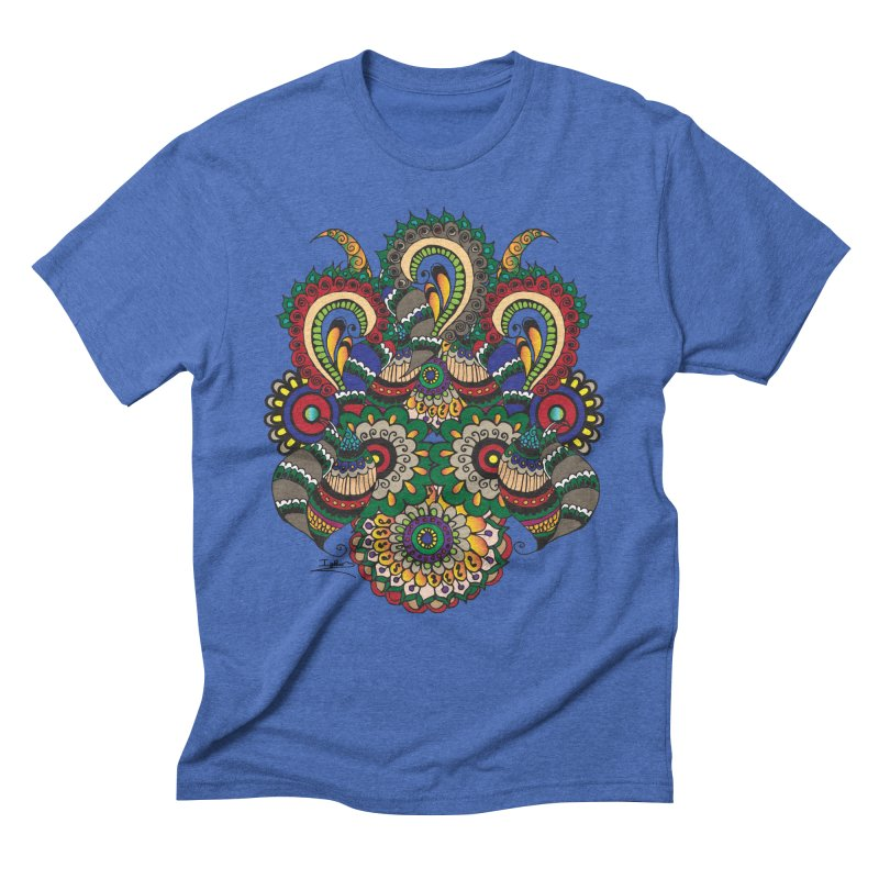 Rorchach Test's Hippie sister Men's Triblend T-Shirt by Iythar's Artist Shop