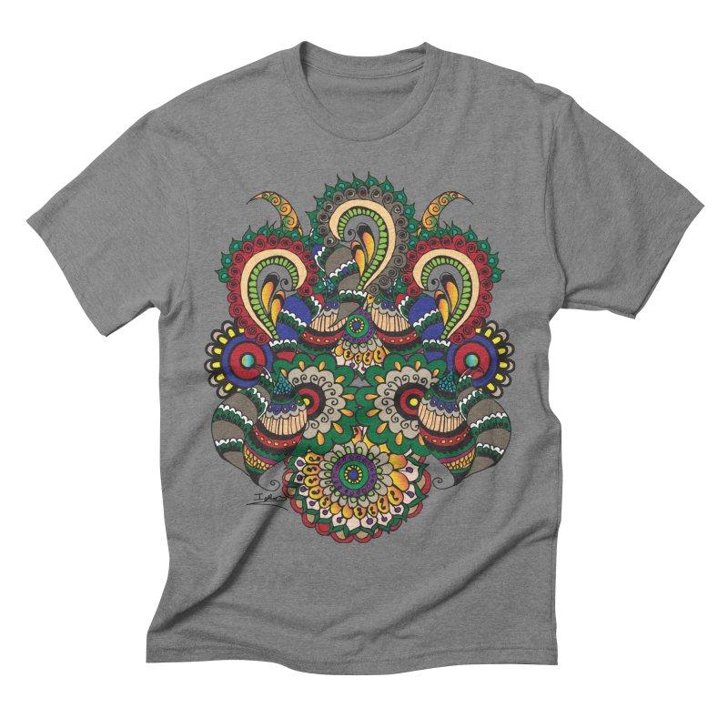 Rorchach Test's Hippie sister Men's Triblend T-shirt by Iythar's Artist Shop