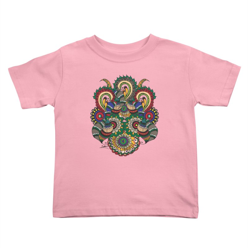 Rorchach Test's Hippie sister Kids Toddler T-Shirt by Iythar's Artist Shop