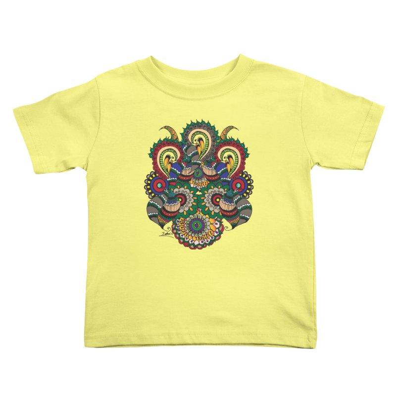 Rorchach Test's Hippie sister Kids Toddler T-Shirt by Iythar's Artist Shop