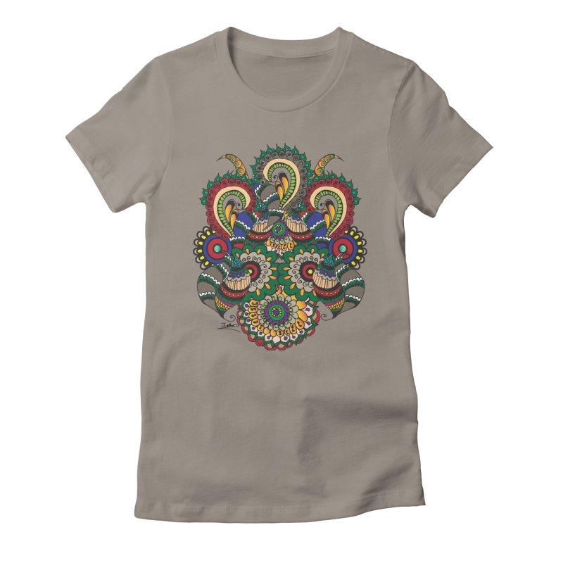 Rorchach Test's Hippie sister Women's T-Shirt by Iythar's Artist Shop