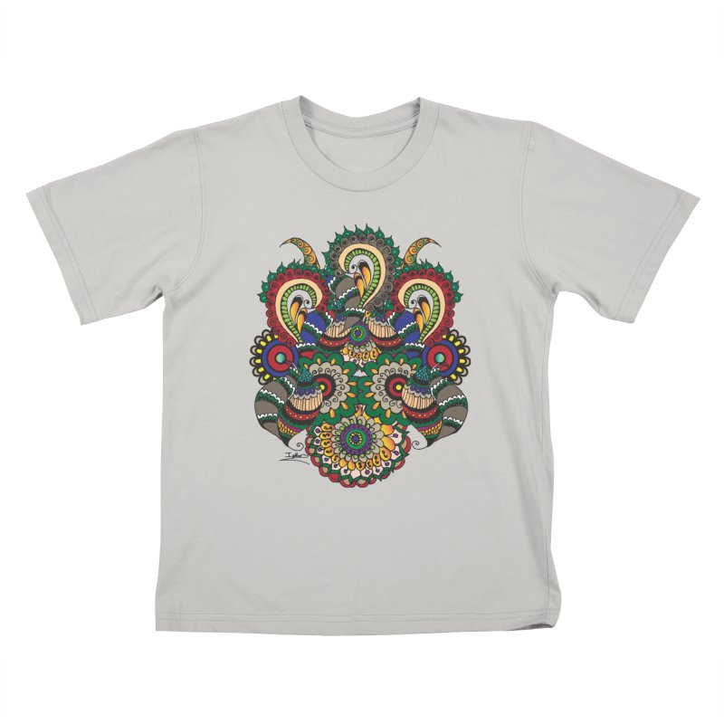 Rorchach Test's Hippie sister Kids T-Shirt by Iythar's Artist Shop