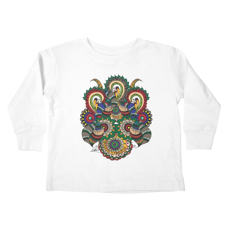 Rorchach Test's Hippie sister Kids Toddler Longsleeve T-Shirt by Iythar's Artist Shop