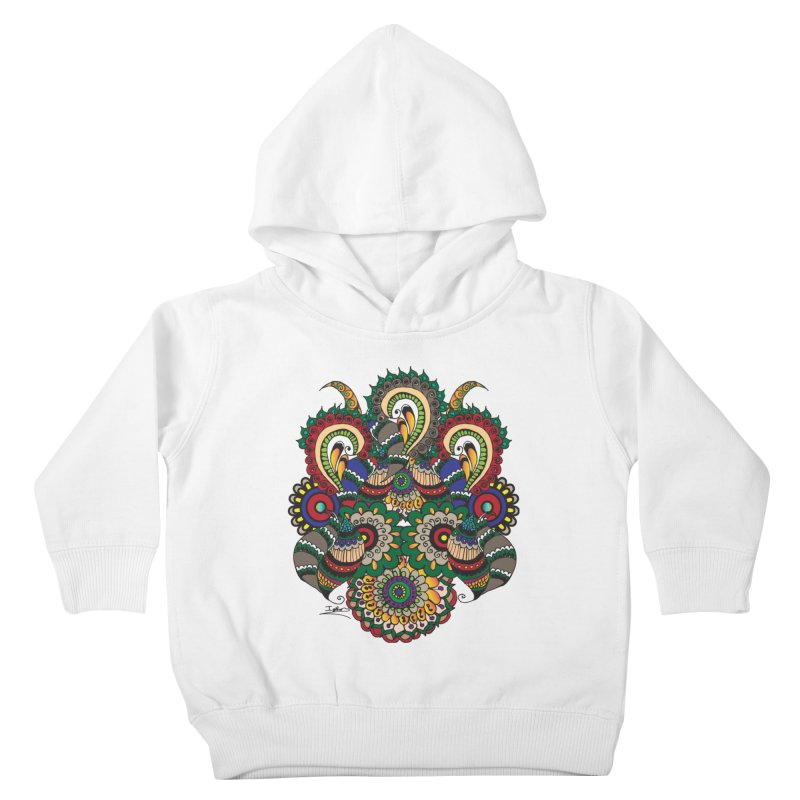 Rorchach Test's Hippie sister Kids Toddler Pullover Hoody by Iythar's Artist Shop