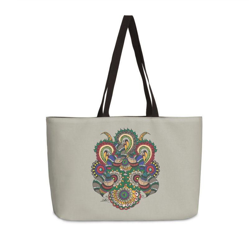 Rorchach Test's Hippie sister Accessories Weekender Bag Bag by Iythar's Artist Shop