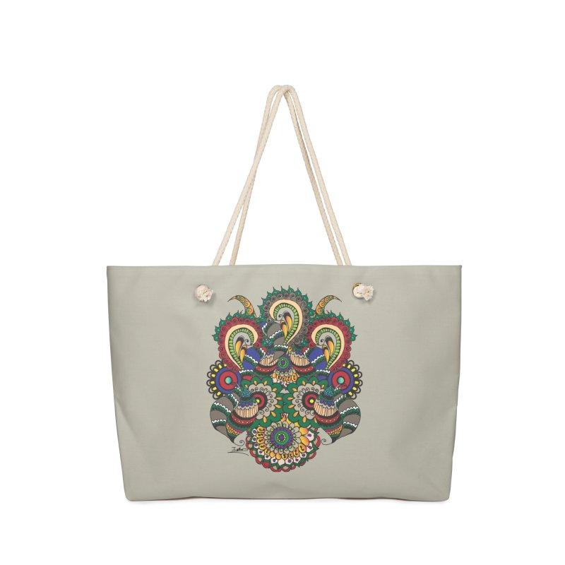 Rorchach Test's Hippie sister Accessories Bag by Iythar's Artist Shop