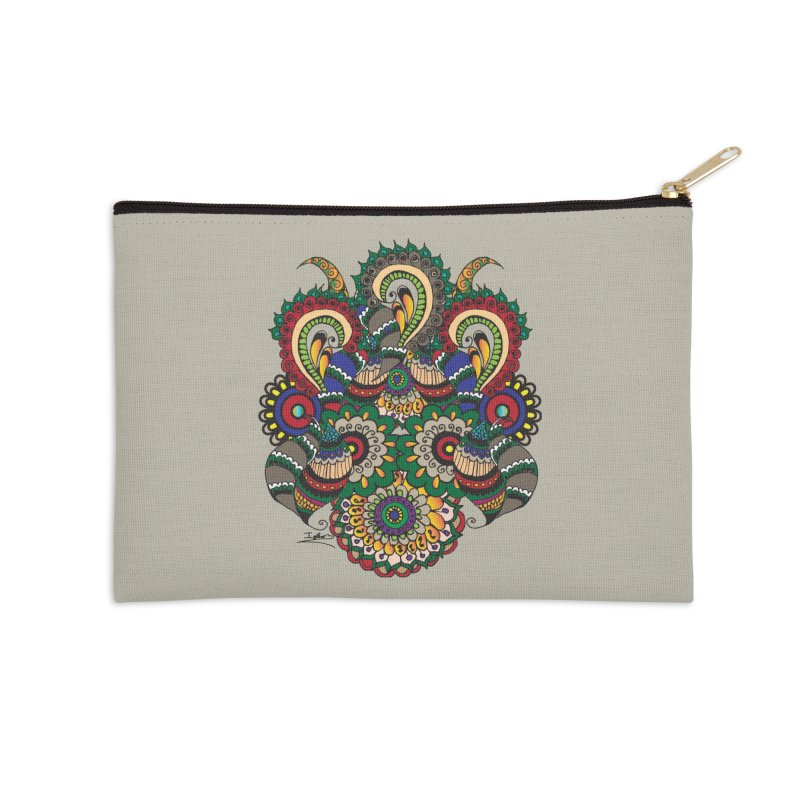 Rorchach Test's Hippie sister Accessories Zip Pouch by Iythar's Artist Shop
