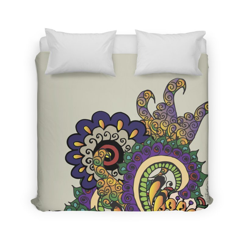 Sea Coral Home Duvet by Iythar's Artist Shop