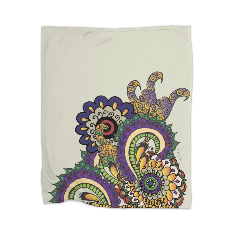Sea Coral Home Blanket by Iythar's Artist Shop