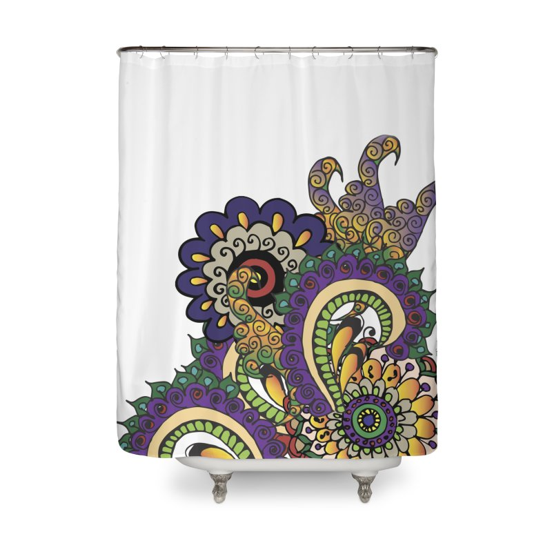Sea Coral Home Shower Curtain by Iythar's Artist Shop
