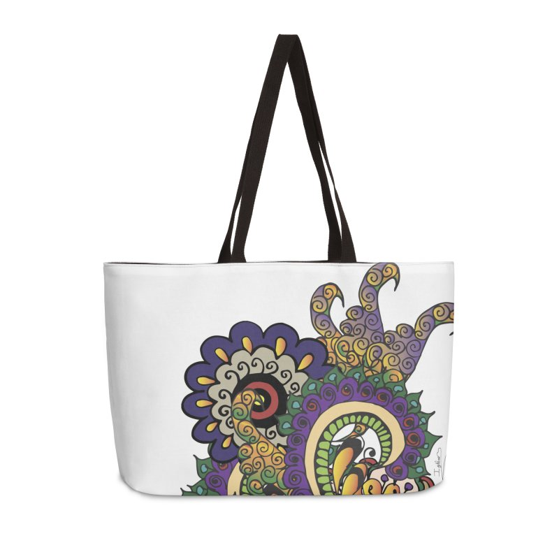 Sea Coral Accessories Weekender Bag Bag by Iythar's Artist Shop