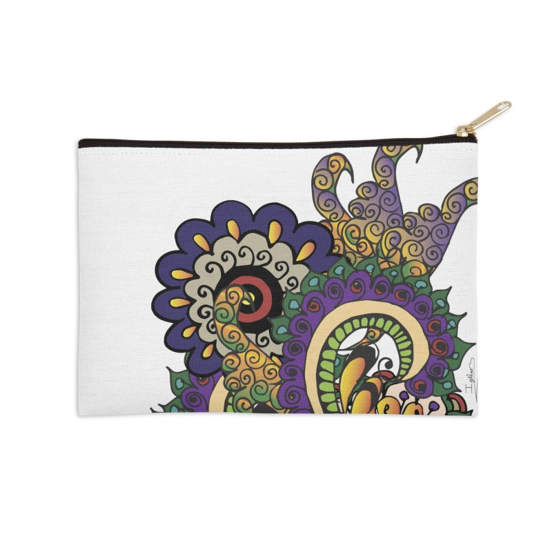 Sea Coral Accessories Zip Pouch by Iythar's Artist Shop