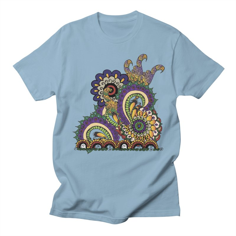 Sea Coral Men's T-shirt by Iythar's Artist Shop