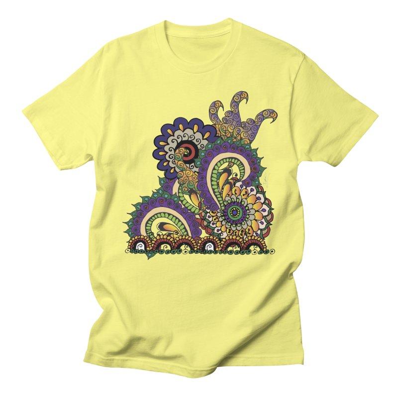 Sea Coral Men's T-shirt by Iythar's Artist Shop