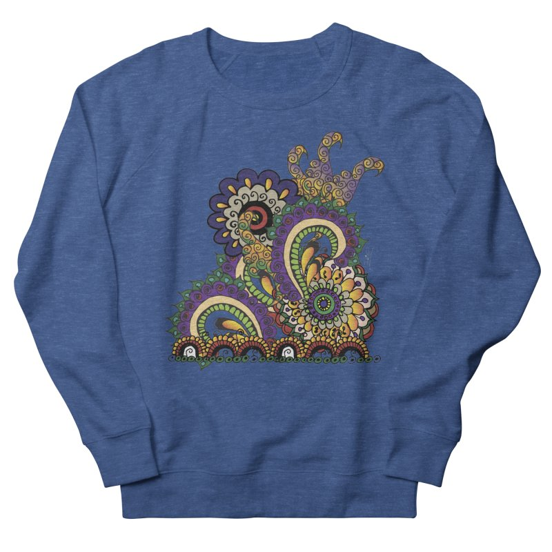 Sea Coral Men's French Terry Sweatshirt by Iythar's Artist Shop