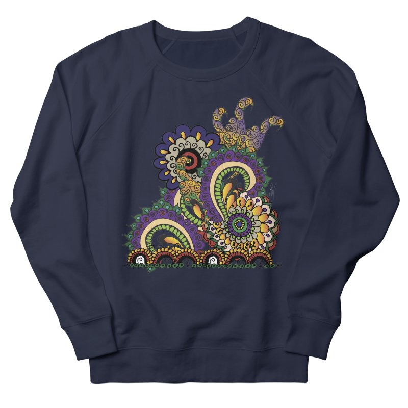 Sea Coral Men's Sweatshirt by Iythar's Artist Shop