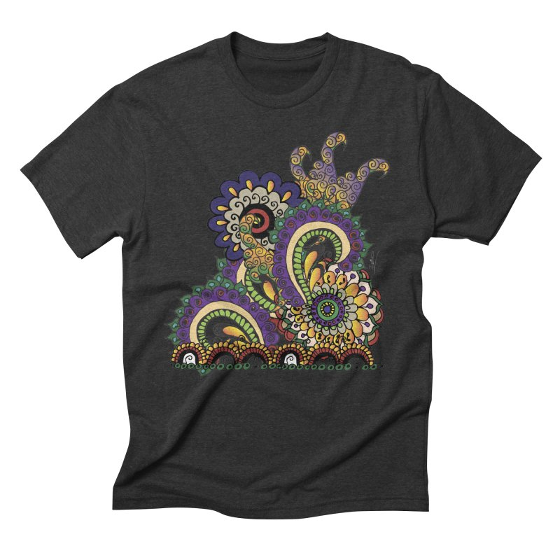 Sea Coral Men's Triblend T-shirt by Iythar's Artist Shop