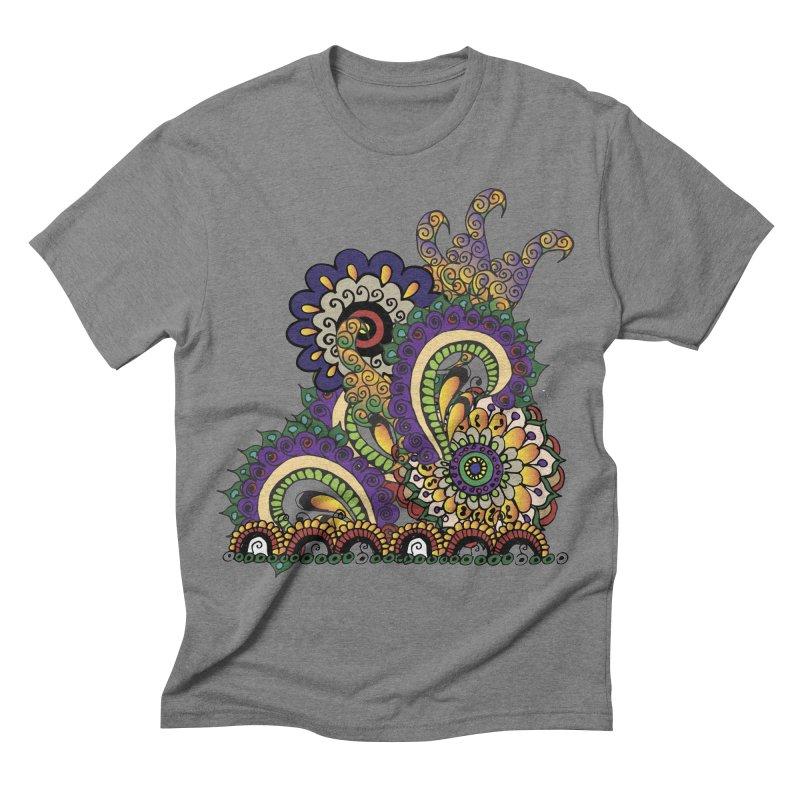 Sea Coral Men's Triblend T-shirt by Iythar's Artist Shop