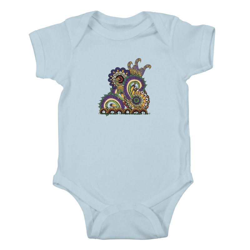 Sea Coral Kids Baby Bodysuit by Iythar's Artist Shop