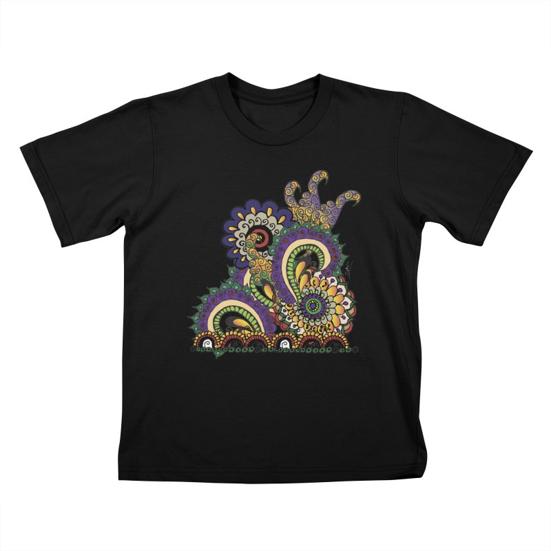 Sea Coral Kids T-Shirt by Iythar's Artist Shop