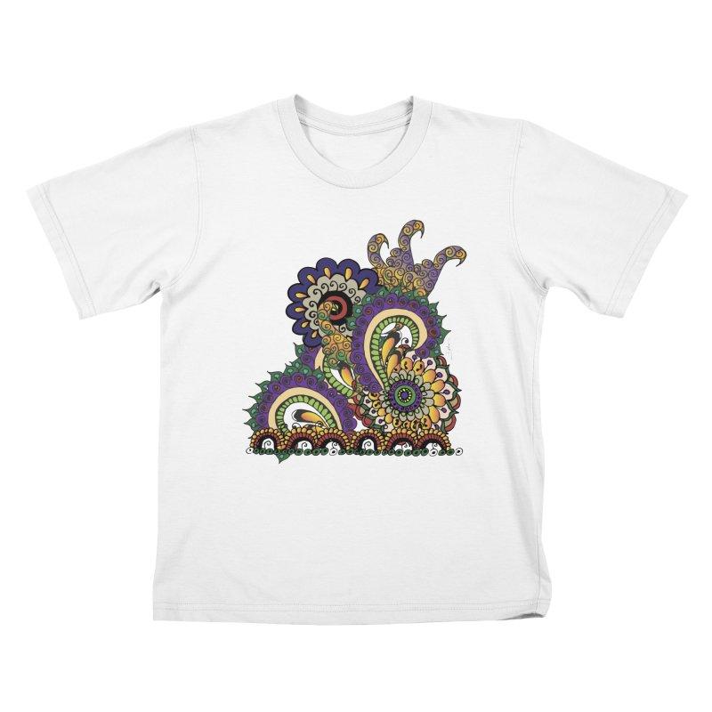 Sea Coral Kids T-Shirt by Iythar's Artist Shop