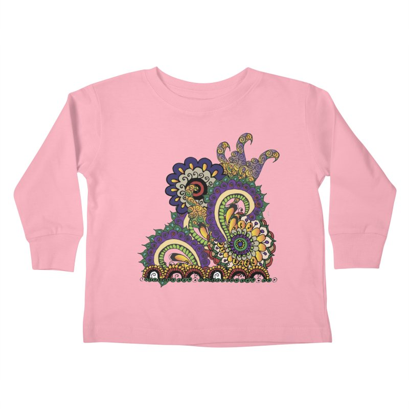 Sea Coral Kids Toddler Longsleeve T-Shirt by Iythar's Artist Shop