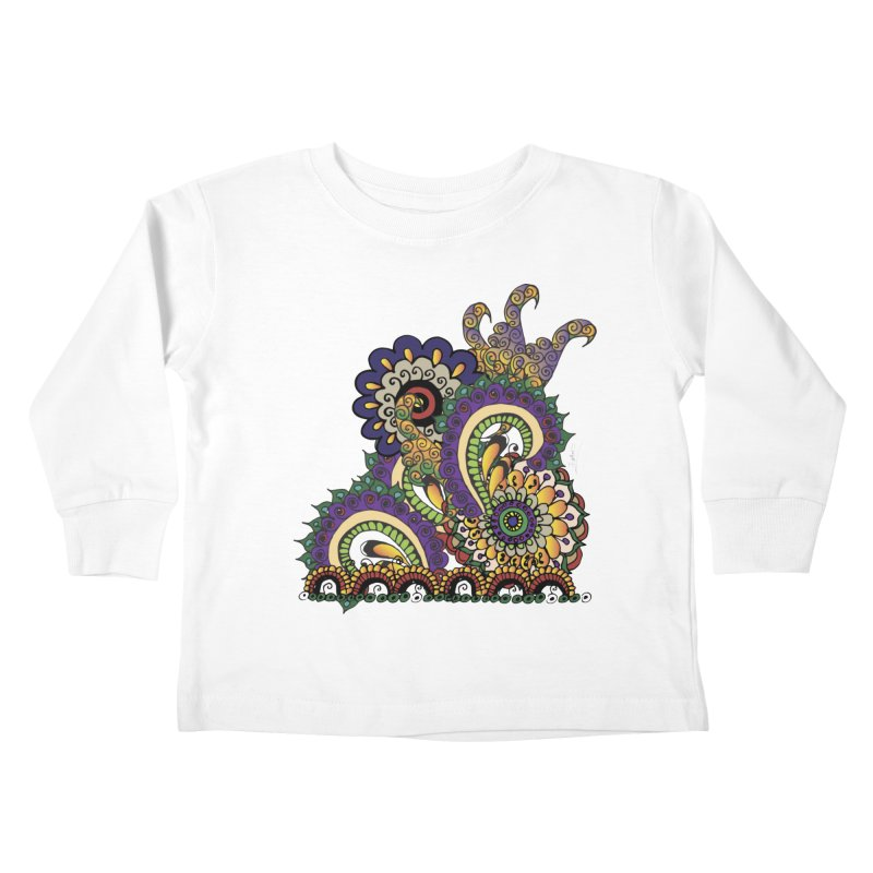 Sea Coral Kids Toddler Longsleeve T-Shirt by Iythar's Artist Shop