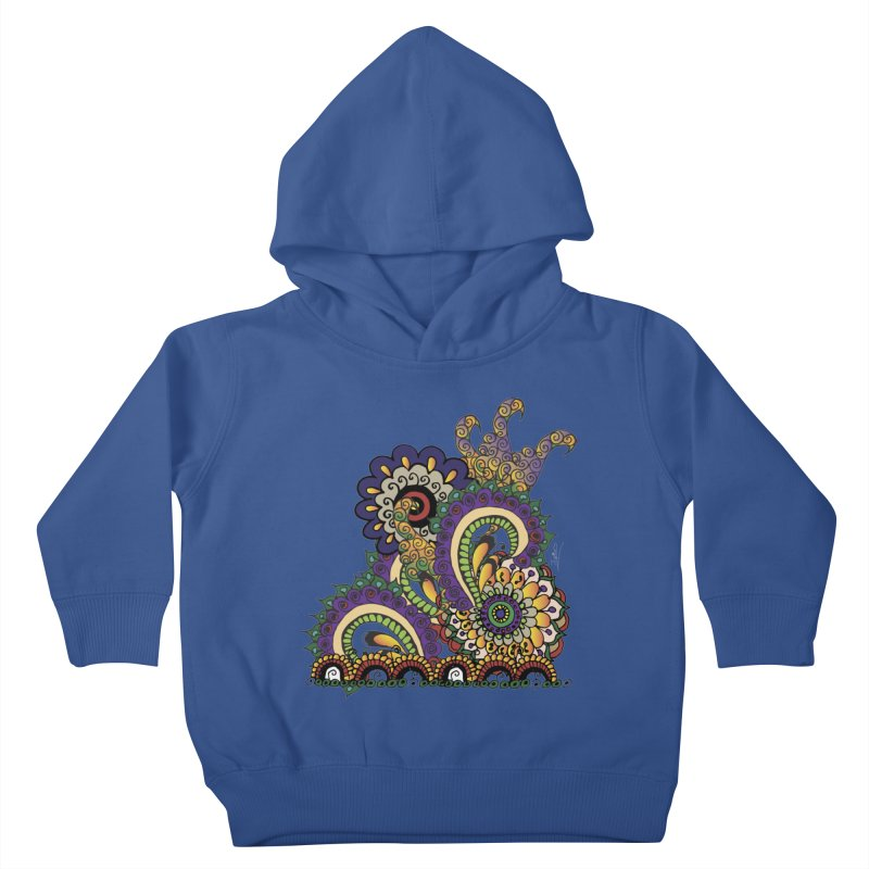 Sea Coral Kids Toddler Pullover Hoody by Iythar's Artist Shop