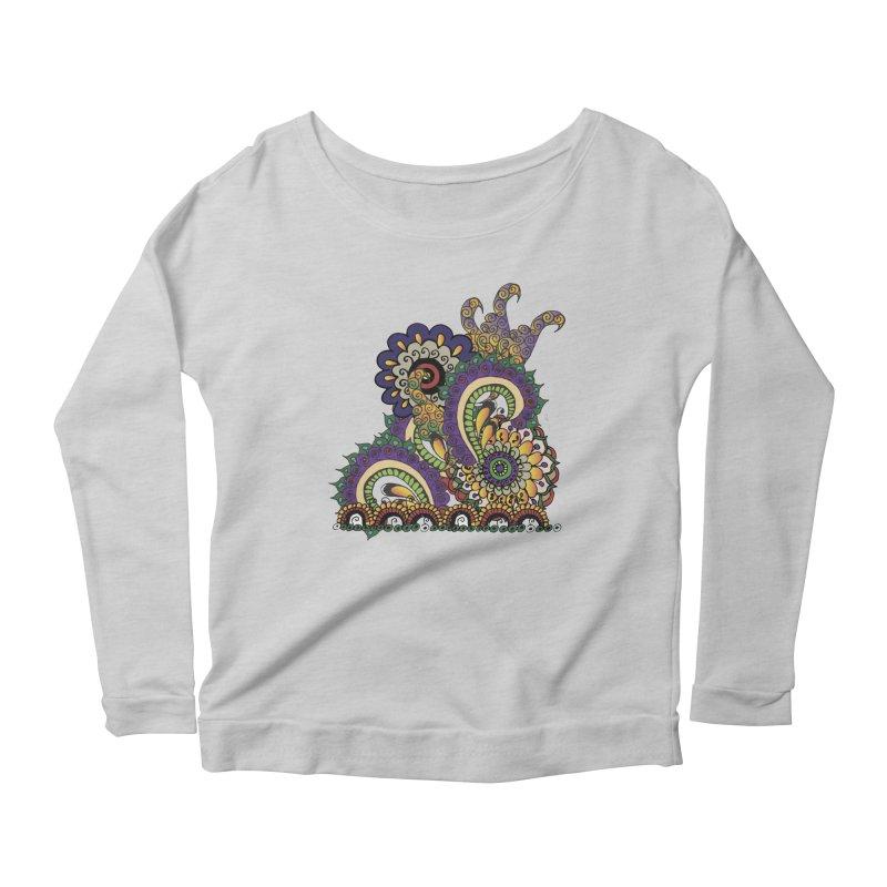 Sea Coral Women's Scoop Neck Longsleeve T-Shirt by Iythar's Artist Shop