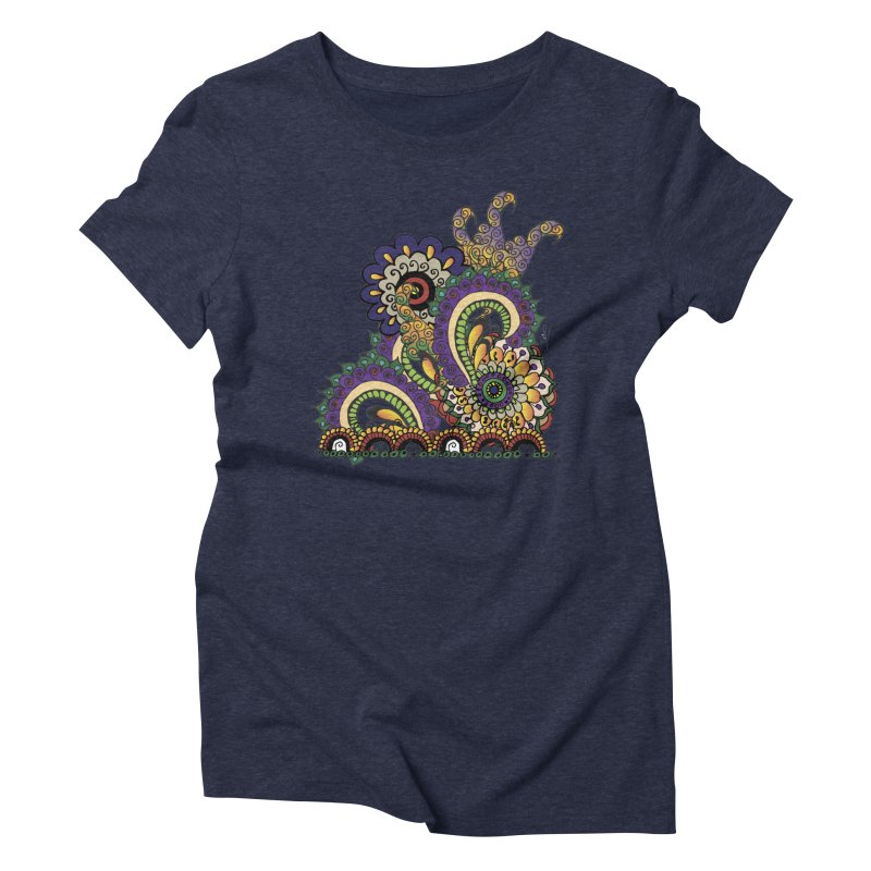 Sea Coral Women's Triblend T-Shirt by Iythar's Artist Shop
