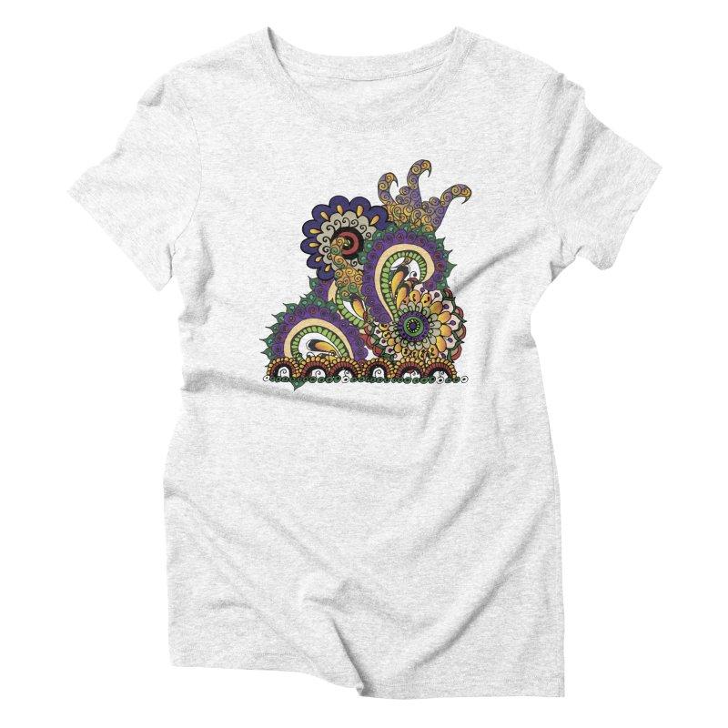 Sea Coral Women's Triblend T-shirt by Iythar's Artist Shop