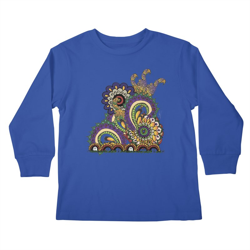 Sea Coral Kids Longsleeve T-Shirt by Iythar's Artist Shop