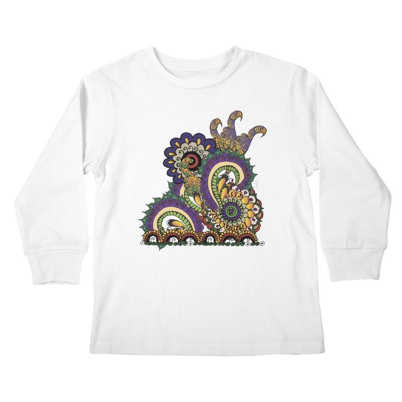 Sea Coral Kids Longsleeve T-Shirt by Iythar's Artist Shop