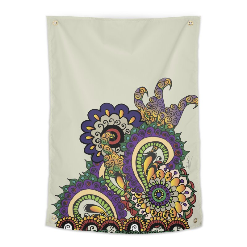 Sea Coral Home Tapestry by Iythar's Artist Shop