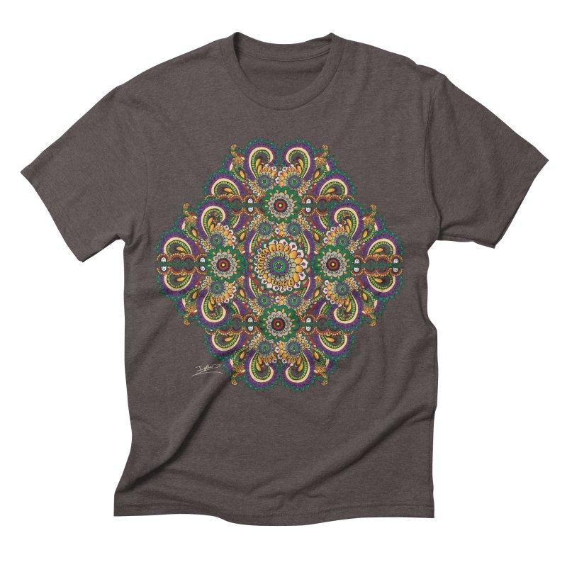 Tree Hugger Men's Triblend T-shirt by Iythar's Artist Shop