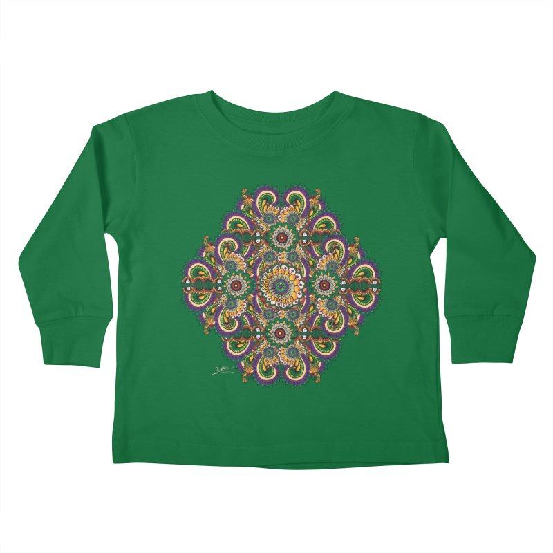 Tree Hugger Kids Toddler Longsleeve T-Shirt by Iythar's Artist Shop