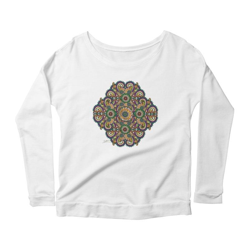 Tree Hugger Women's Scoop Neck Longsleeve T-Shirt by Iythar's Artist Shop