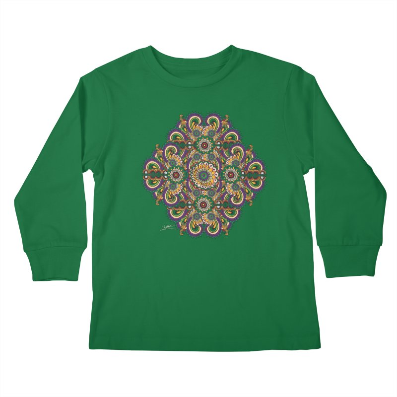 Tree Hugger Kids Longsleeve T-Shirt by Iythar's Artist Shop