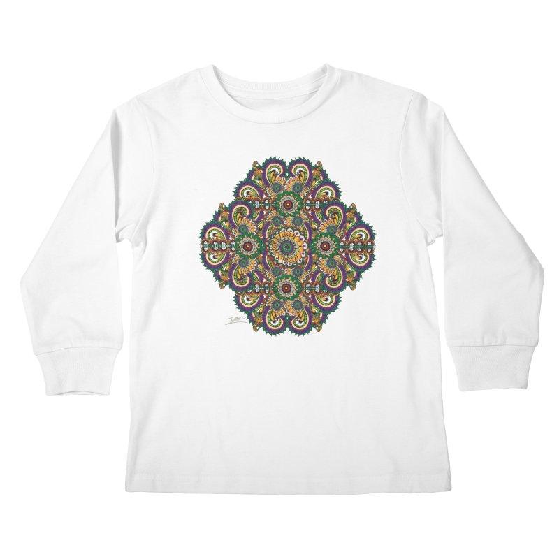 Tree Hugger Kids Longsleeve T-Shirt by Iythar's Artist Shop