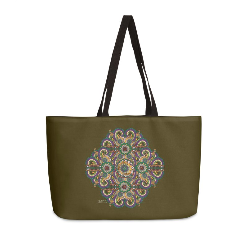 Tree Hugger Accessories Weekender Bag Bag by Iythar's Artist Shop
