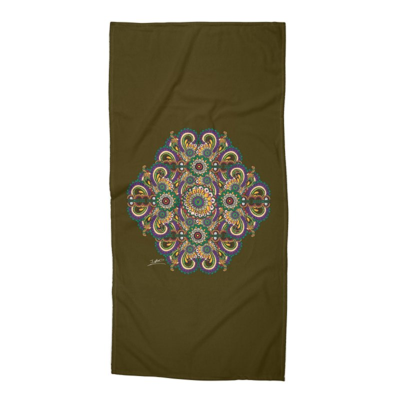 Tree Hugger Accessories Beach Towel by Iythar's Artist Shop
