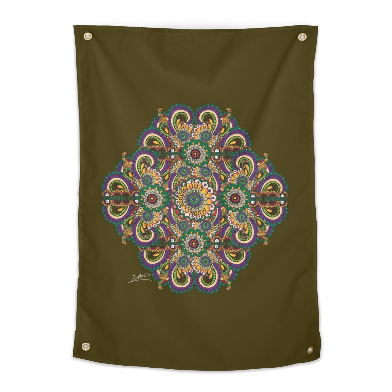 Tree Hugger Home Tapestry by Iythar's Artist Shop
