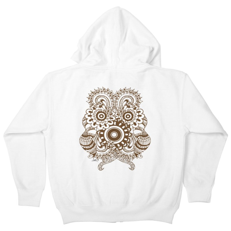I See A Butterfly Kids Zip-Up Hoody by Iythar's Artist Shop