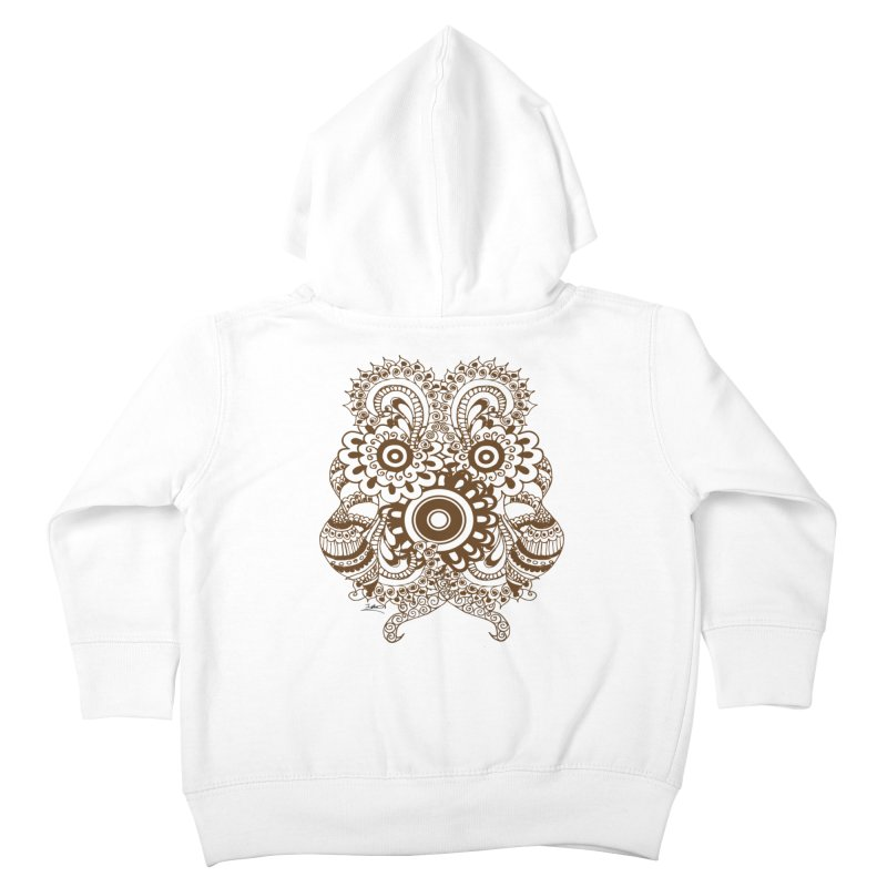 I See A Butterfly Kids Toddler Zip-Up Hoody by Iythar's Artist Shop