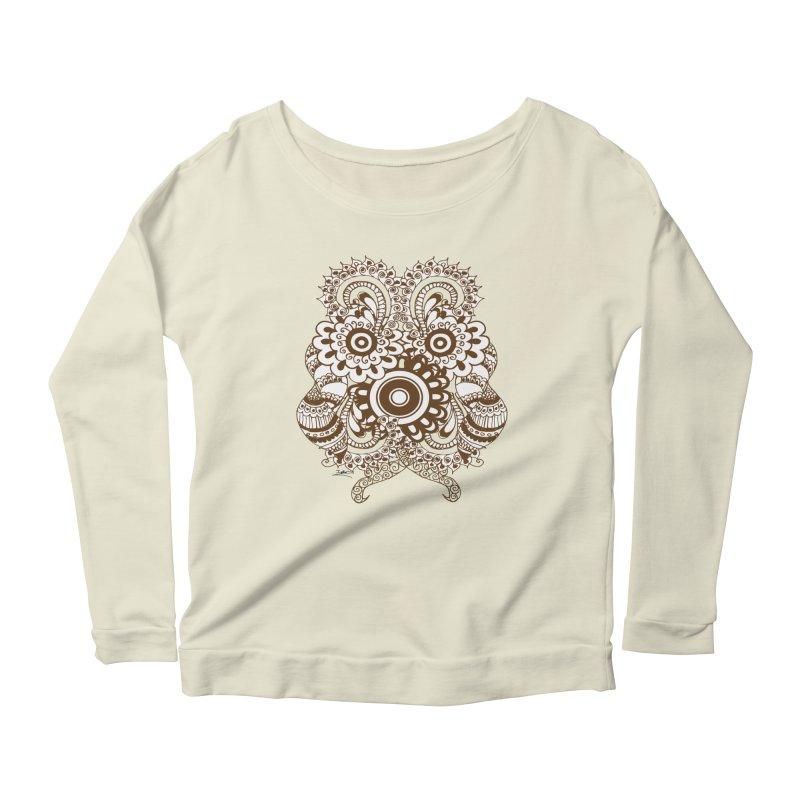 I See A Butterfly Women's Scoop Neck Longsleeve T-Shirt by Iythar's Artist Shop
