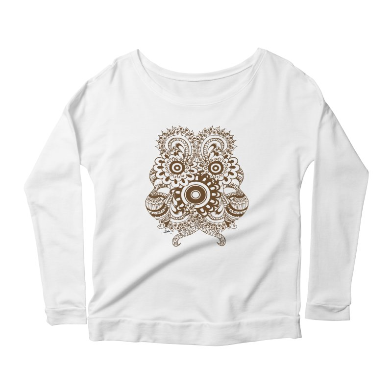 I See A Butterfly Women's Scoop Neck Longsleeve T-Shirt by Iythar's Artist Shop
