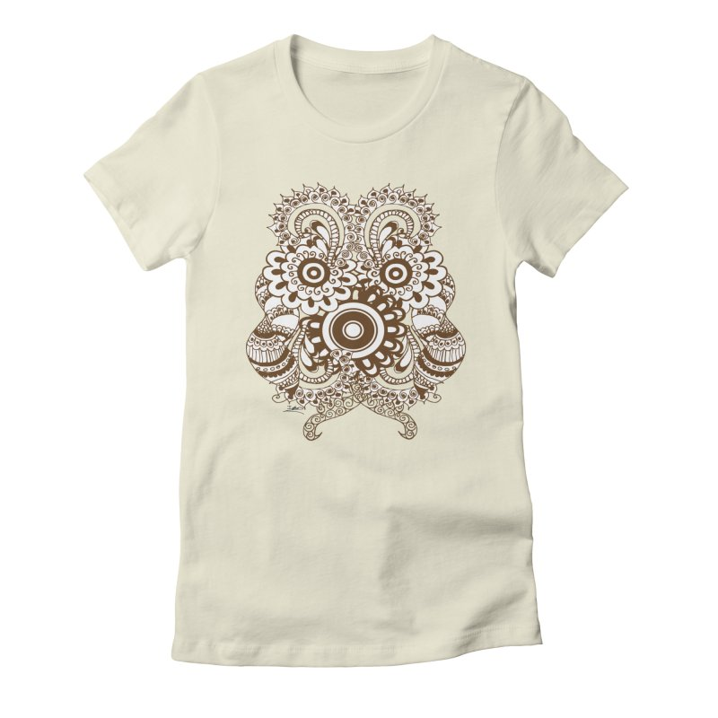 I See A Butterfly Women's Fitted T-Shirt by Iythar's Artist Shop
